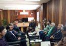 دیدار شهردار و اعضای شورای اسلامی فیض آباد با فرماندار شهرستان مه ولات به مناسبت هفته دولت