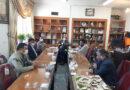 جلسه بررسی مسائل مرتبط با کشتارگاه دام در دفتر شهردار فیض آباد برگزار شد