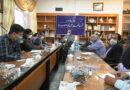 نشست خبری شهردار و اعضای شورای اسلامی شهر فیض آباد با اصحاب رسانه
