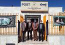 دیدار شهردار و اعضای شورای اسلامی شهر با رئیس اداره پست به مناسبت روز جهانی پست