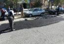 گزارش تصویری / عملیات لکه گیری آسفالت خیابان شریعتی