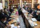جلسه بررسی طرحها و برنامه های توسعه شهر فیضآباد با حضور دکتر زنگنه برگزار شد